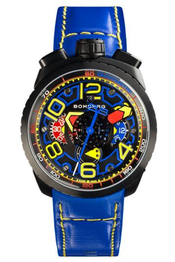 Bomberg Bolt-68 BS47CHAPBA.041-3.3 AUTOMATIC CHRONOGRAPH fake watches uk